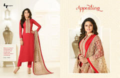 Amazing Red Georgette Salwar Kameez1224