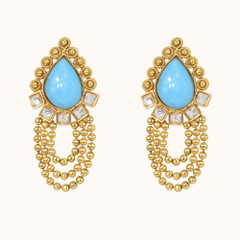 Stunning Gold Plated Earrings1863
