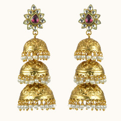 Stunning Gold Plated Earrings1864