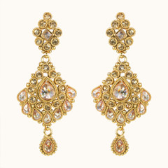 Stunning Gold Plated Earrings1865