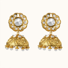 Stunning Gold Plated Earrings1867