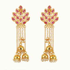 Stunning Gold Plated Earrings1872