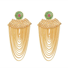 Stunning Gold Plated Earrings1874
