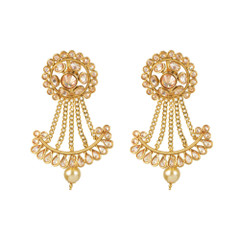Stunning Gold Plated Earrings1875