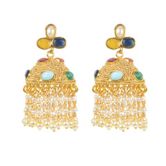 Stunning Gold Plated Earrings1878