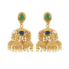 Stunning Gold Plated Earrings1879