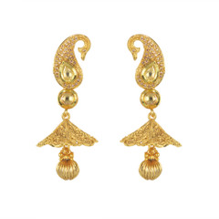Stunning Gold Plated Earrings1882