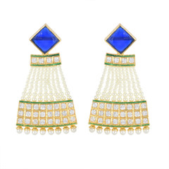 Stunning Gold Plated Earrings1885