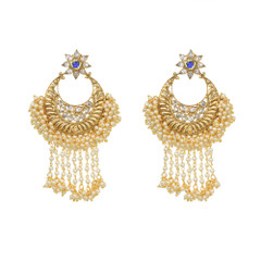 Stunning Gold Plated Earrings1887