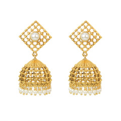 Stunning Gold Plated Earrings1890