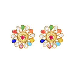 Stunning Gold Plated Earrings1895