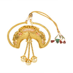Stunning Gold Plated Designer Piece Armlets2013