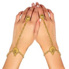 Stunning Gold Plated Hand Cuffs1997