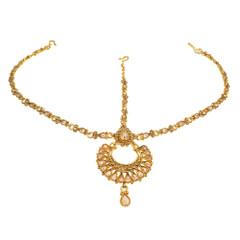 Stunning Gold Plated Designer Maang Tikka1986