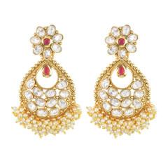 Stunning Gold Plated Designer Earrings2000
