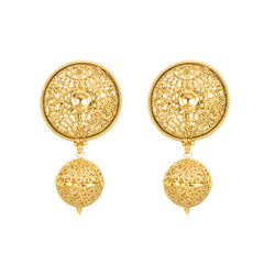 Stunning Gold Plated Earrings2009