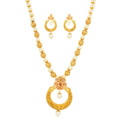 Stunning Gold Plated Necklace Set2028