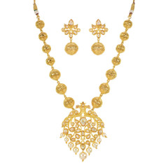 Stunning Gold Plated Necklace Set2029