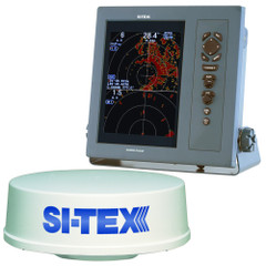 "SI-TEX T-2041 Professional Dual Range Radar w/4kW 25"" Dome - 10.4"" Color TFT LCD Display [T-2041]"