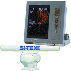 "SI-TEX Professional Dual Range Radar w/12kW 6' Open Array - 10.4"" Color TFT LCD Display [T-2010-6]"