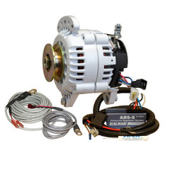 Balmar 60 Series Alternator - Saddle Mount(Dual Foot) Charging Kit - 70A - 12V [60-YP-70-SV]