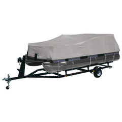 """Dallas Manufacturing Co. Heavy-Duty 300 D Polyester Pontoon Cover - Fits 21 - 24 w/Beam Width to 102"""" [BC2104MENB]"""