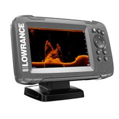 """Lowrance HOOK²-5x 5"""" GPS SplitShot Fishfinder w/Track Plotter Transom Mount SplitShot Transducer [000-14016-001]"""