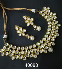 Amazing Gold Plated Necklace Set1079