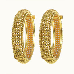 Stunning Gold Plated Kada2396