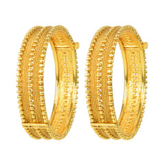 Stunning Gold Plated Kada2406