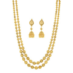 Stunning Gold Plated Necklace Set2418