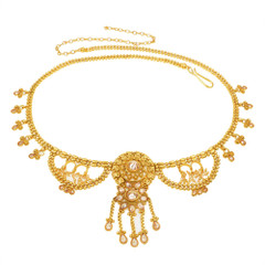 Stunning Gold Plated Necklace Style Waistbelt2154