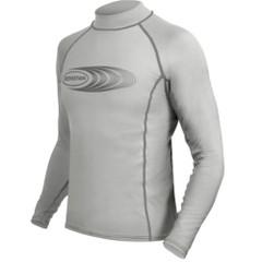 Ronstan Long Sleeve Rash Guard Top - UPF50+ - Ice Grey - Medium [CL22M]