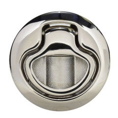 Southco Flush Pull Latch - Pull To Open - Non-Locking Polished Stainless Steel [M1-64-8]