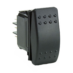 Cole Hersee Rocker Switch SPST (On)-Off 2 Blade [M-58031-07-BP]
