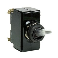 Cole Hersee Illuminated Toggle Switch SPST On-Off 4 Screw [54109-BP]