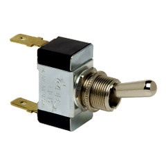 Cole Hersee Heavy Duty Toggle Switch SPST On-Off 2 Blade [55014-BP]