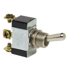Cole Hersee Heavy Duty Toggle Switch SPDT (On)-Off-(On) 3 Wire [55021-07-BP]