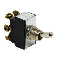 Cole Hersee Heavy Duty Toggle Switch DPDT On-Off-On 6 Screw [5592-BP]