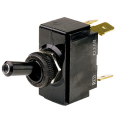 Cole Hersee Lighted Tip Toggle Switch SPDT On-Off-On 5 Blade [M-54111-02-BP]
