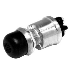 Cole Hersee Push Button Switch SPST Off-On 2 Screw w/Screw-On Cap [90030-BP]