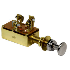 Cole Hersee Push Pull Switch SPDT Off-On1-On2 4 Screw [M-532-BP]