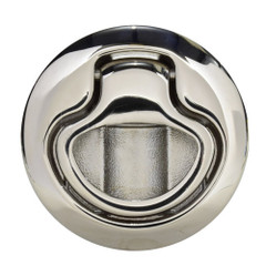 Southco Flush Pull Latch Pull to Open - Non-Locking - Polished Stainless Steel [M1-63-8]