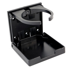 Innovative Lighting Adjustable Fold-Down Cup Holder - No Hardware - Black [7-AFD-BKANH]