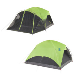 Coleman Carlsbad 6-Person Darkroom Tent w/Screen Room [2000033190]