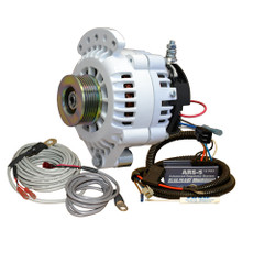 Balmar 621 Series Alternator - Spindle Mount(Single Foot) Charging Kit - K6 Serpentine Pulley - 100A - 12V [621-VUP-100-K6]