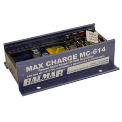 Balmar Max Charge MC-614 Multi-Stage Regulator w/o Harness - 12V [MC-614]