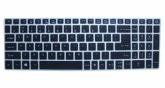 Keyboard Cover for Acer Aspire E 15 E5-575 E5-576G E5-574G E5-573G ES15 ES1-572/Aspire E 17 E5-772G/Aspire V15 V17 VN7-592G VN7-792G F15 F5-571 F5-573G/Aspire 3 A315/Aspire 7 A715, Black