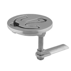"""TACO Latch-tite Lifting Handle - 2.5"""" Round - Stainless Steel [F16-2500]"""