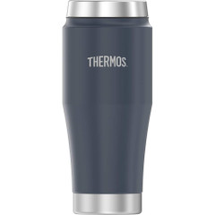 Thermos Vacuum Insulated Stainless Steel Travel Tumbler - 16oz - Matte Dusty Blue [H1018DB4]